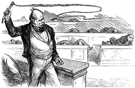 Karikatur peitsche zuckerbrot und Was bedeutet