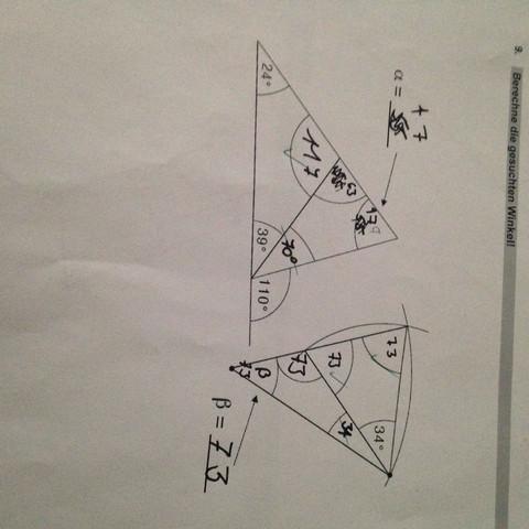 Beide Aufgaben bitte!  - (Mathematik, Geometrie)