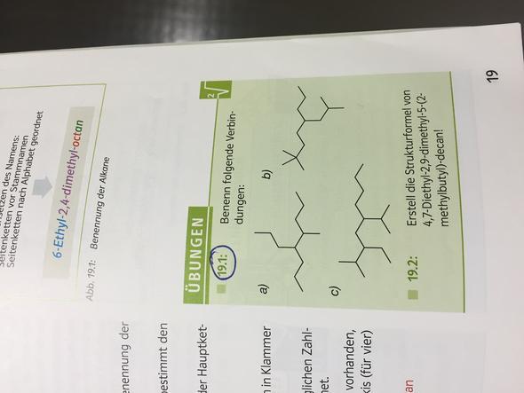 Nur 19.1 - (Chemie, Verbindung)