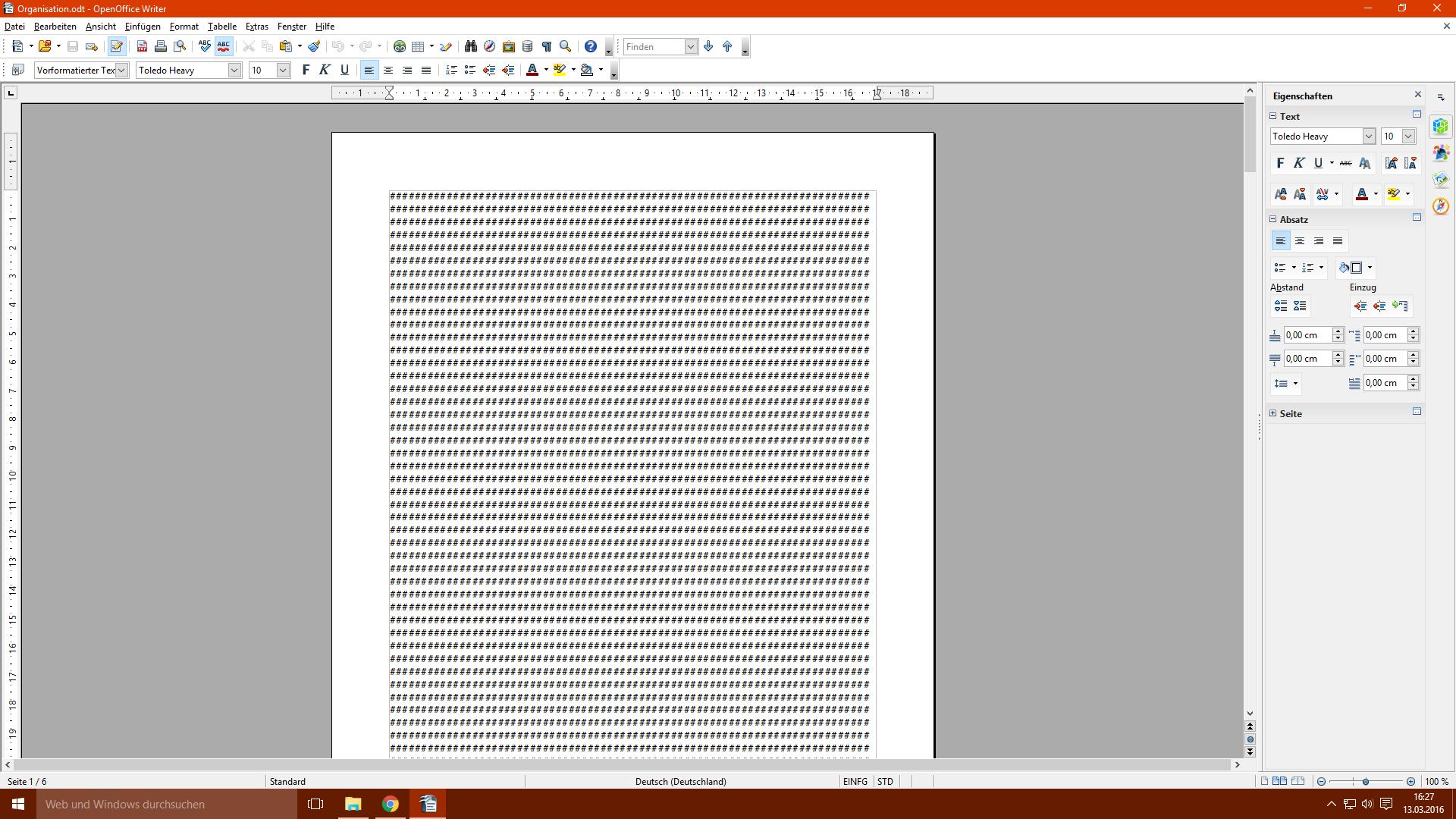 Kann Ich Dieses Open Office Dokument Wieder Herstellen Text
