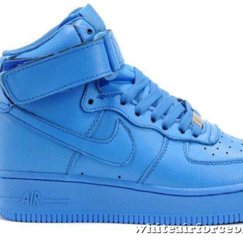 Nike Air Force One Blau