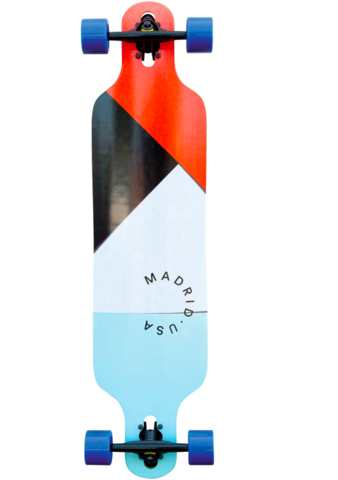 "Madrid Trance 9.625"" x 39"" Papercut Drop-Thru Compl - (longboard, welches Longboard)"
