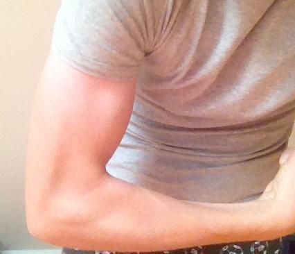 ... - (Muskeln, Muskelaufbau, Bizeps)