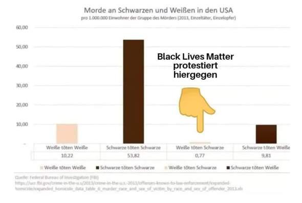 Black lives matter: Ist diese Grafik echt oder Fake?
