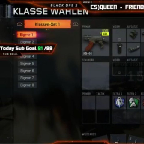 Klassen Sets - (Waffen, Klasse, Bo3)