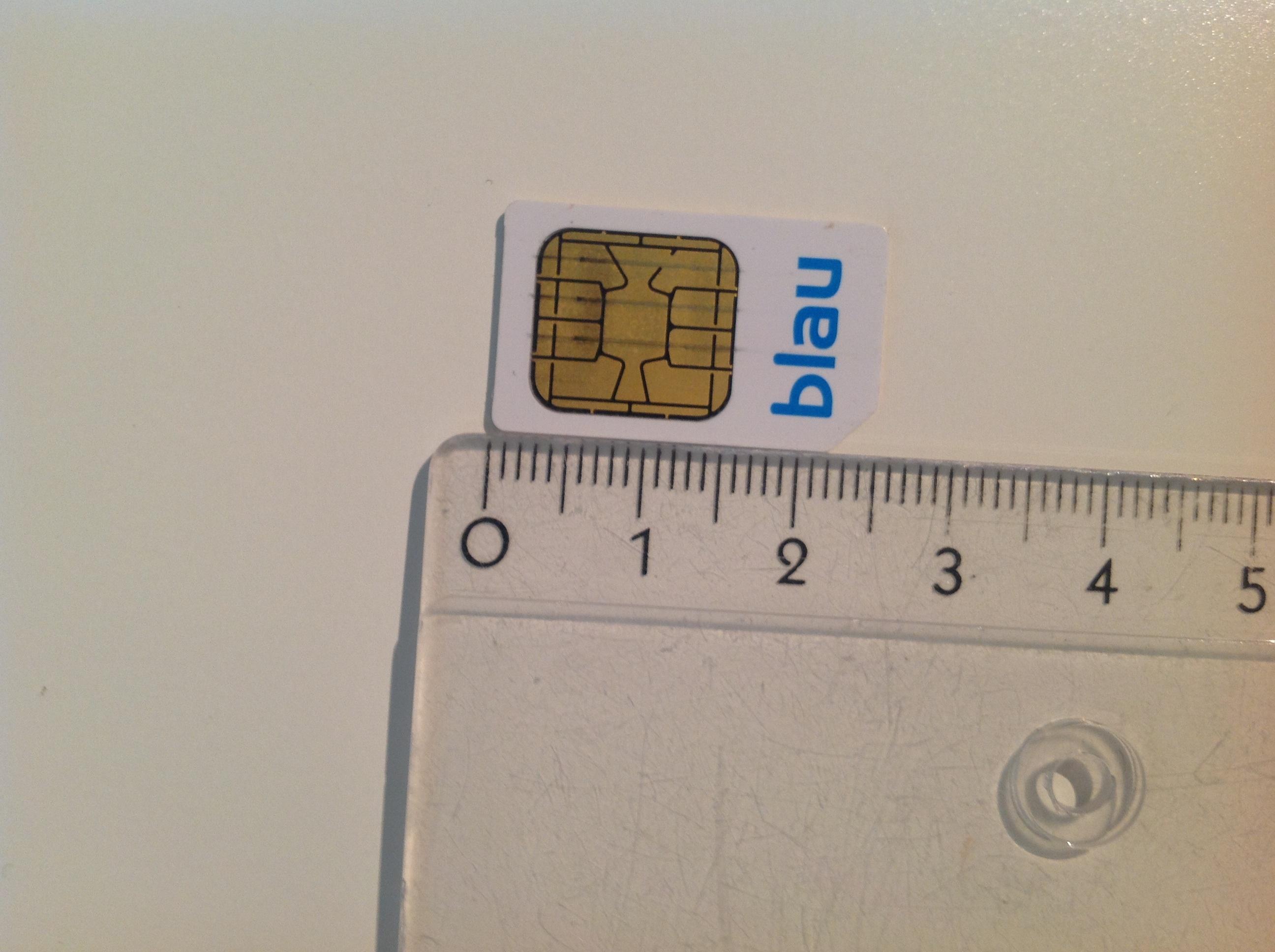 Sim Karte Stanzen.Im Handyladen Micro Sim Auf Nano Sim Stanzen Oder Schneiden Lassen