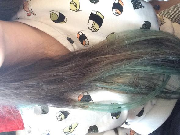 Blau Grune Haare Violett Directions Uberfarben Farbe