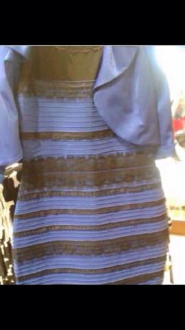 Kleid in schwarz blau