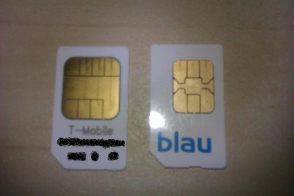 alte sim karte in neues handy blau.de SIM Karte (bzw. deren Kontaktberiche) passt nicht