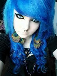 Soo soll die farbe aussehen *-* - (Haare, färben, blau)