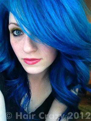 Blaue Haare Farben Moderne Männliche Und Weibliche Haarschnitte