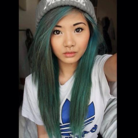 Wie hat sie ihre Haare GENAU SO hinbekommen? - (Haare, Beauty, Haarfarbe)
