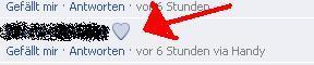 Blaues Herz - (Facebook, Chat, Herz)