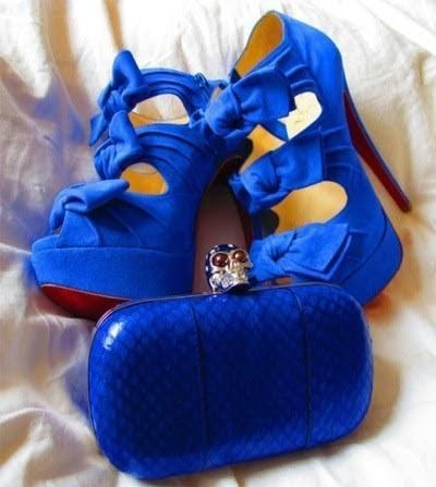 die Schuhe - (Schuhe, blau)