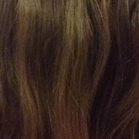 Meine haare Abends - (Haare, blau)