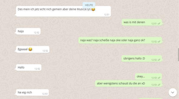 Chatverlauf - (Liebe, Jungs, WhatsApp)