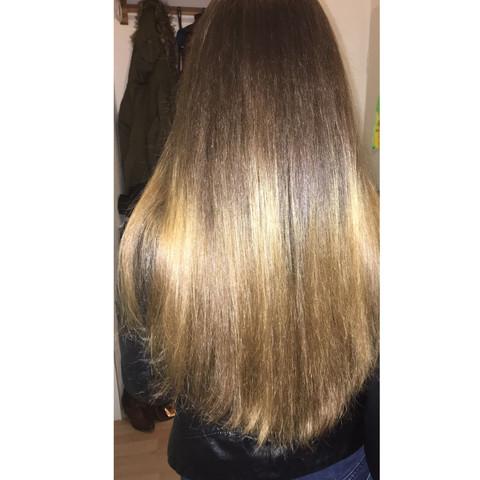 Haare auf blonde farbe braune Wem stehen