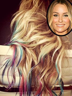 Frisur unten andere farbe