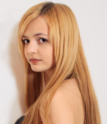 Blonde Haare Lila Farben Haarfarbe