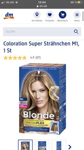 Hellbraun haarfarbe dm