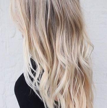 So soll es am schluss aussehen  - (Haare, Frisur, färben)
