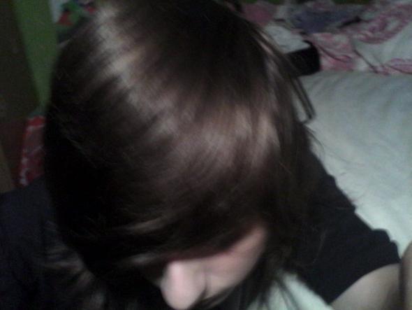 meine natur Haarfarbe - (Haare, Blondierung)