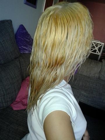 Haare kaputt von blondierung
