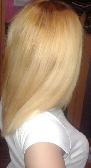 blondierte haare wie findet ihr meine gut schlecht blond. Black Bedroom Furniture Sets. Home Design Ideas