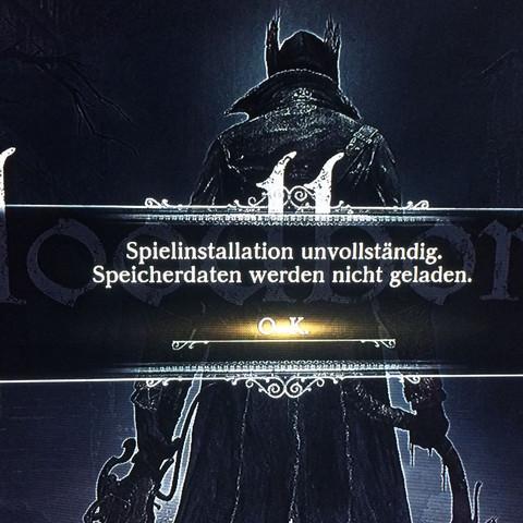 Bild von Problem Meldung - (PS4, dlc, Bloodborne)