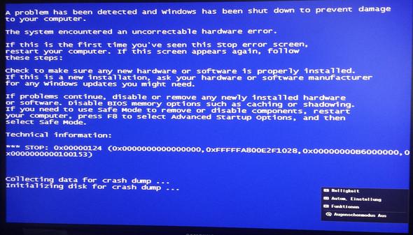 Fehlermeldung - (Computer, Windows 7, Fehlermeldung)