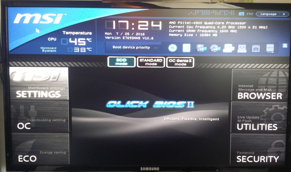 BIOS - (Computer, Windows 7, Fehlermeldung)