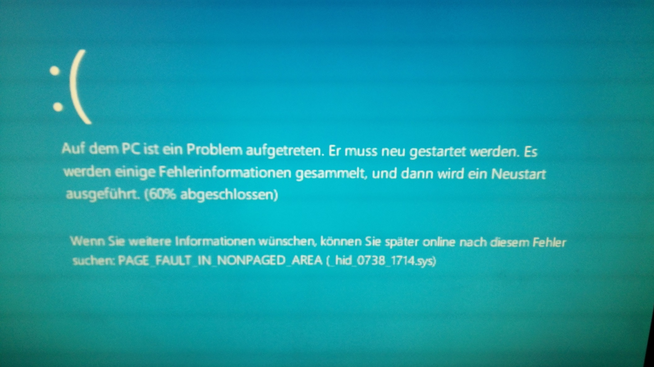 Windows Fehler Page_fault_in_nonpaged_area
