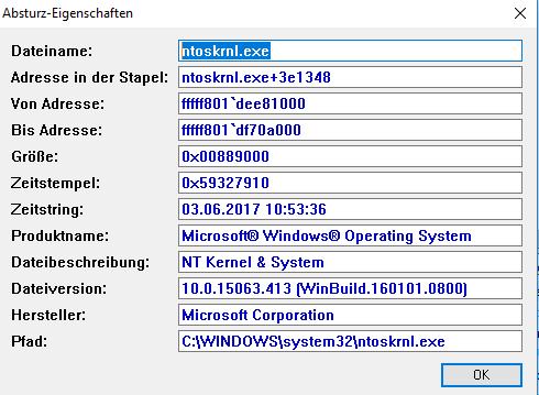 BlueScreenViewer - (PC, Windows 10, Bluescreen)