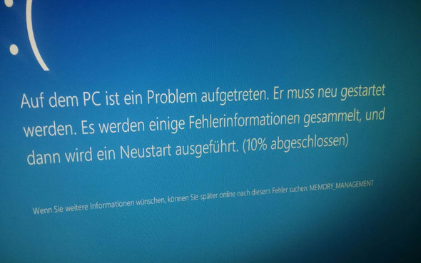 Fehler 1 - (Fehler, Windows 10, Bluescreen)
