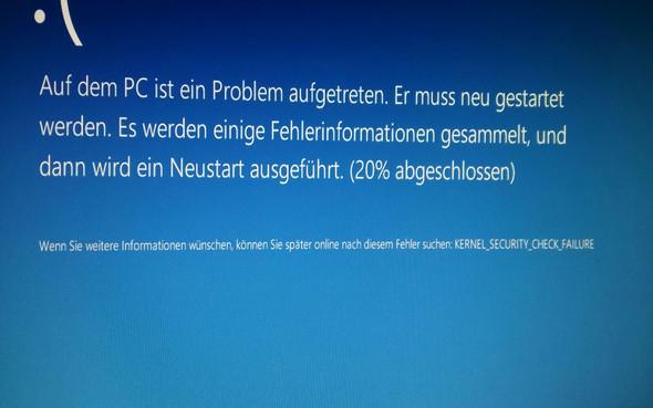 Fehler 2 - (Fehler, Windows 10, Bluescreen)