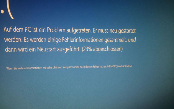 Fehler 3 - (Fehler, Windows 10, Bluescreen)