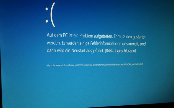 Fehler 4 - (Fehler, Windows 10, Bluescreen)
