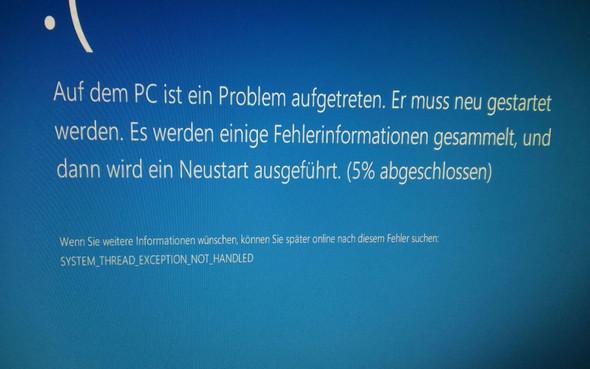 Fehler 7 - (Fehler, Windows 10, Bluescreen)