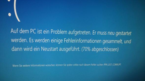 Fehler 8 - (Fehler, Windows 10, Bluescreen)