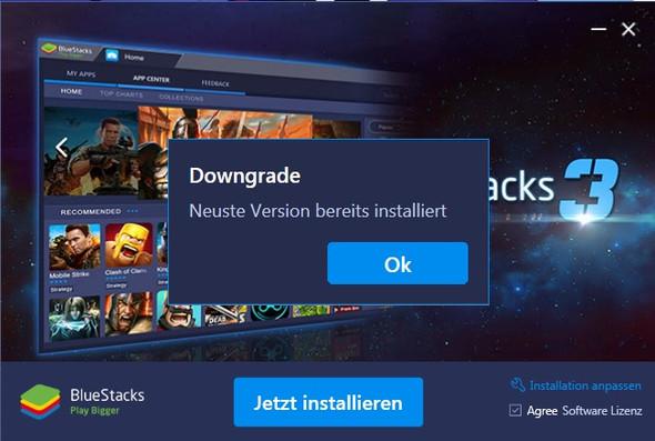 Bluestacks installer - (Computer, Apps, Fehler)