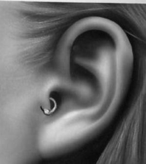 tragus piercing selber stechen anleitung