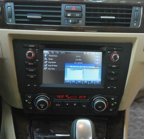 bmw 1er e82 navi fest verbauen auto radio. Black Bedroom Furniture Sets. Home Design Ideas
