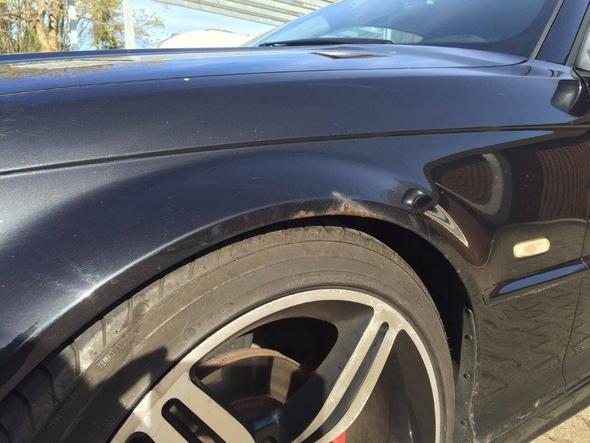 Rost3 - (BMW, lackieren, Rost)