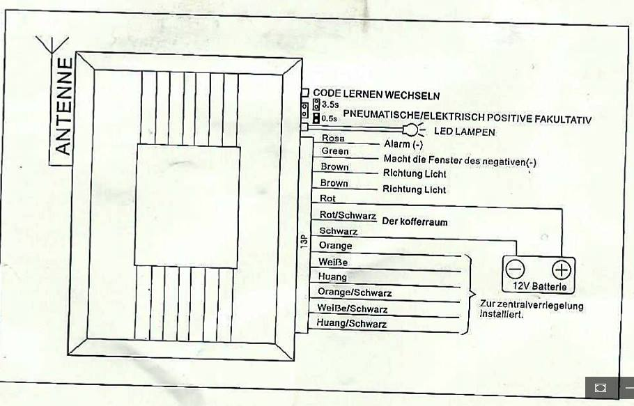 bmw e36 fernbedienung nachr sten technik elektronik kabel. Black Bedroom Furniture Sets. Home Design Ideas