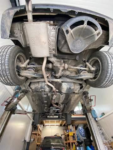 BMW E36i plötzlicher Sturz an der Hinterachse?