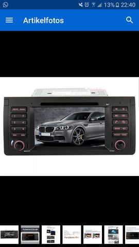 Besagtes Radio - (BMW, Lenkrad, e39)