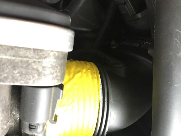 Faltenblag wurde geflickt - (Auto und Motorrad, BMW, E46)