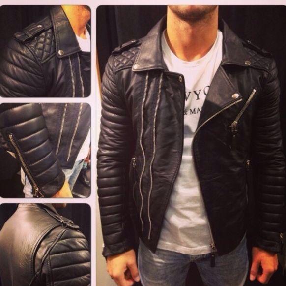 Boda skins Leder Jacke (so ähnlich ) (Skin, Fälschung)