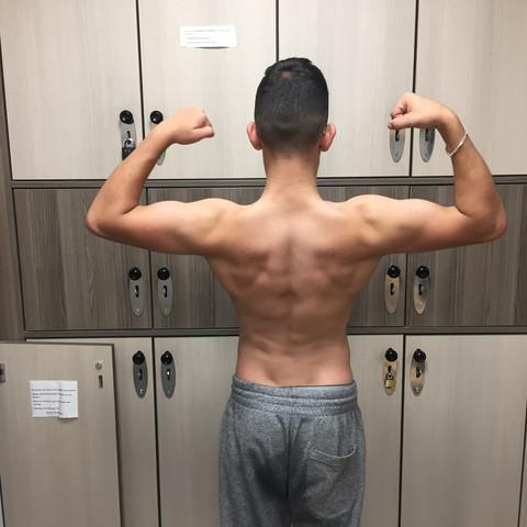 - (Gesundheit, Bodybuilding, Massephase)