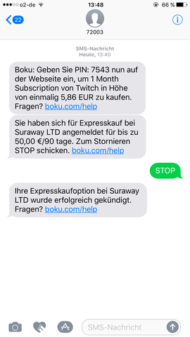 Was Ist Boku Sms